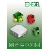 Серия приборных коробок для монтажа КР-2801, 2802, 2803